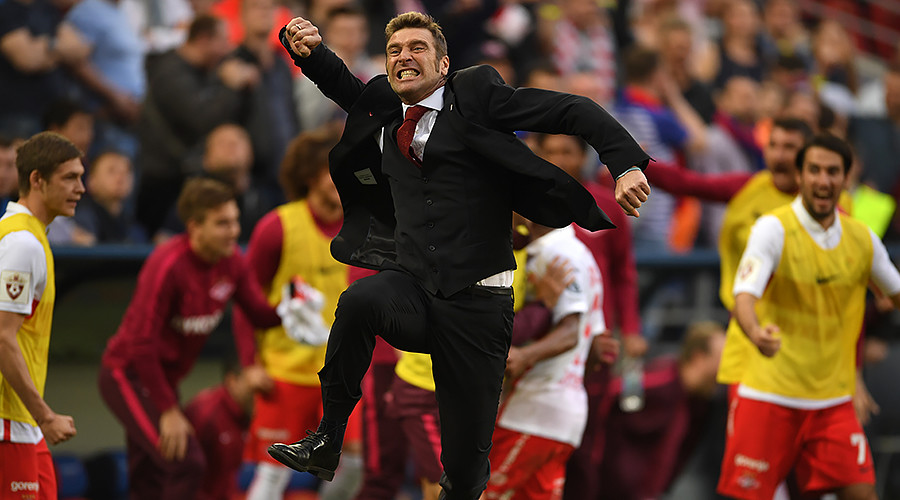 CSKA 1-2 Spartak - Moscow derby sees Spartak edge closer to 1st league title in 16 yrs