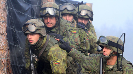 Lithuanian soldiers. © Petras Malukas