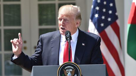 US President Donald Trump. ©Nicholas Kamm