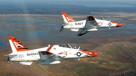 Two T-45C Goshawk jets ©Wikipedia