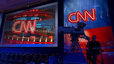 A CNN camera operator © Mike Blake