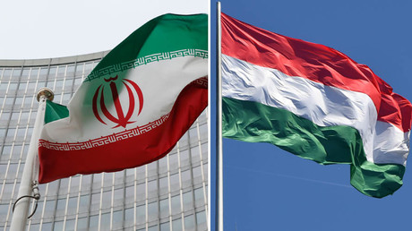 Iranian (L) and Hungarian (R) flags © Reuters / Global Look Press