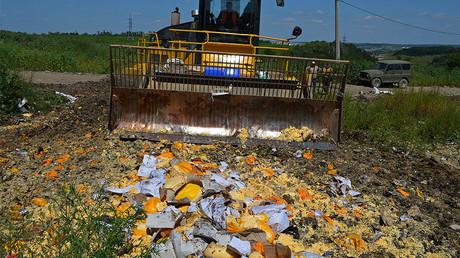 Elimination of sanctions products in Belgorod Region. © Office of Rosselkhoznadzor for Belgorod region