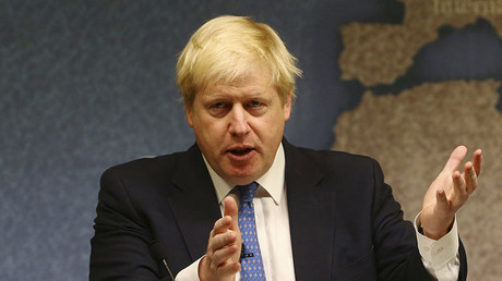Britain's Foreign Secretary Boris Johnson  © Gareth Fuller