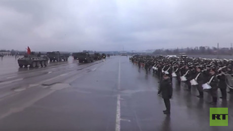 Rehearsal in 360: Russian military prepares for May 9th, Victory Day Parade
