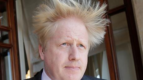 Britain's Foreign Secretary Boris Johnson. ©Max Rossi