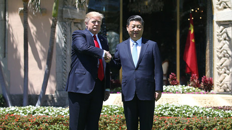 U.S. President Donald Trump (L) and China's President Xi Jinping. © Carlos Barria