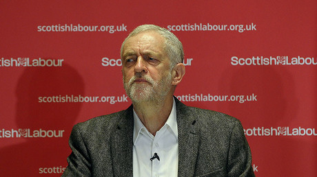 British opposition Labour Party leader Jeremy Corbyn. ©Andy Buchanan