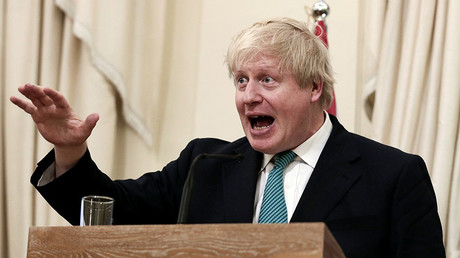British Foreign Secretary Boris Johnson. © Alkis Konstantinidis