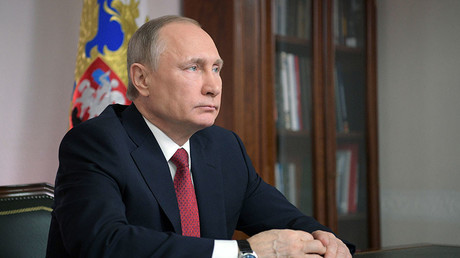 Russian President Vladimir Putin. ©Alexei Druzhinin