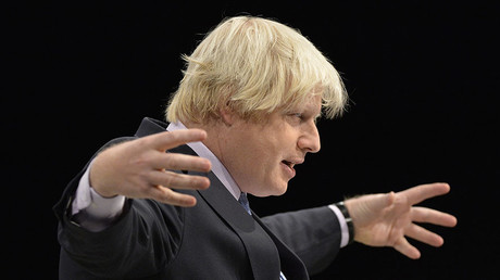 British Foreign Secretary Boris Johnson. © Toby Melville