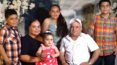 Maribel Trujillo with her family ©gofundme.com