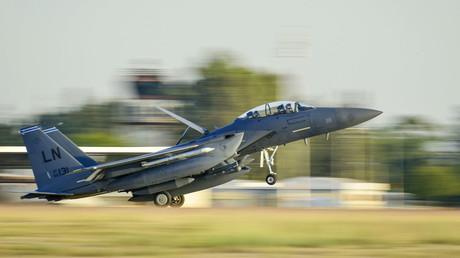 FILE PHOTO: A U.S. Air Force F-15E Strike Eagle © Airman 1st Class Cory W. Bush