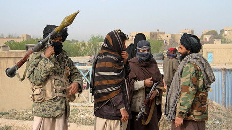 FILE PHOTO Members of the Taliban in Ghazni Province, Afghanistan © Reuters
