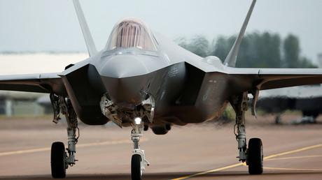 A Lockheed Martin F-35A fighter jet © Peter Nicholls