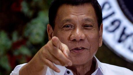 Philippine President Rodrigo Duterte © Ezra Acayan