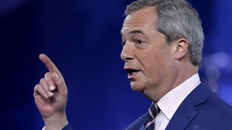 Former UKIP leader Nigel Farage. ©Mike Theiler