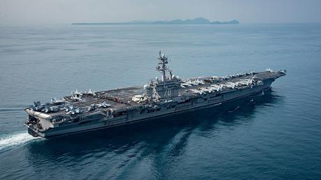 USS Carl Vinson (CVN 70) . ©U.S. Navy Photo