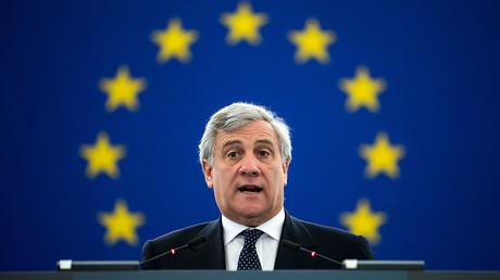 Antonio Tajani, president of the European Parliament © Bernd von Jutrczenka / Global Look Press