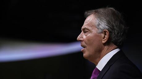Former British Prime Minister Tony Blair. ©Toby Melville