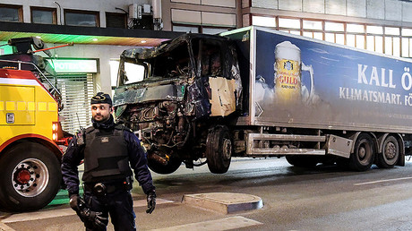 Police weren't equipped to protect themselves & others during Stockholm truck attack – reports