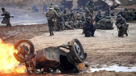 WWII Battle of Berlin staged in Moscow