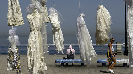 'Wedding dress doesn't cover the rape': Activists campaign against Lebanese 'rape law'