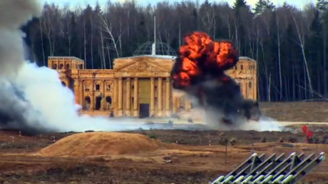 'Reichstag stormed' as Battle of Berlin reenacted near Moscow