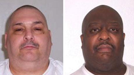 Jack Jones (L) and Marcel Williams. ©Arkansas Department of Corrections