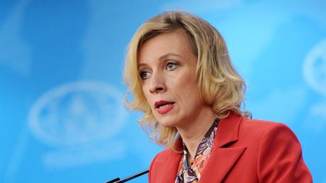 Russian Foreign Ministry Spokesperson Maria Zakharova. ©Valeriy Melnikov