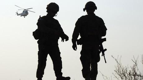 FILE PHOTO: U.S. soldiers, Afghanistan © Lucas Jackson
