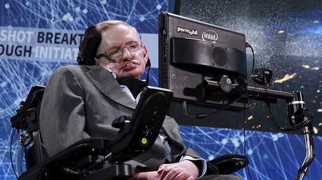 Physicist Stephen Hawking. © Lucas Jacksonn