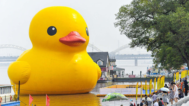 Giant Rubber Ducky Costs Ontario 200k Rt Viral
