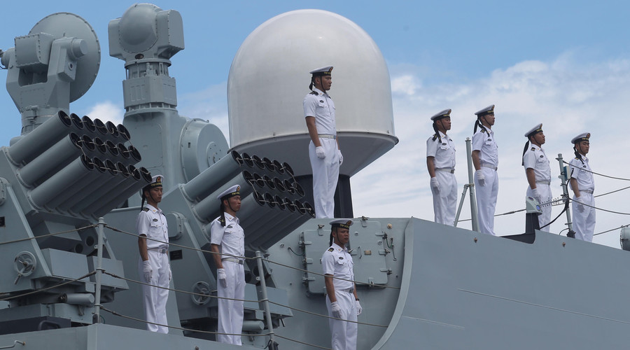 3 Chinese warships make 'goodwill' port call in Duterte's Philippines hometown (PHOTOS, VIDEO)