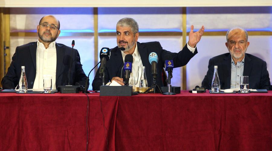 Hamas 'ready to support' 1967 Israeli-Palestinian borders before Trump meets Abbas