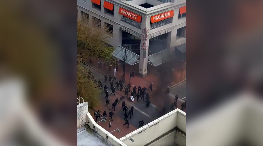 Violence, arrests mark May Day protest in Portland, as police cancel permit over 'anarchists'