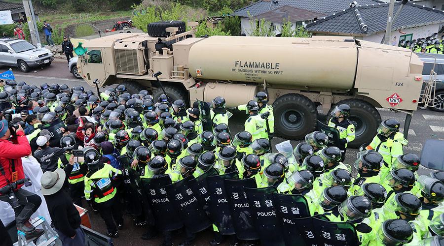 """China pede """"imediata"""" paragem à implantação de THAAD na Coreia do Sul"""
