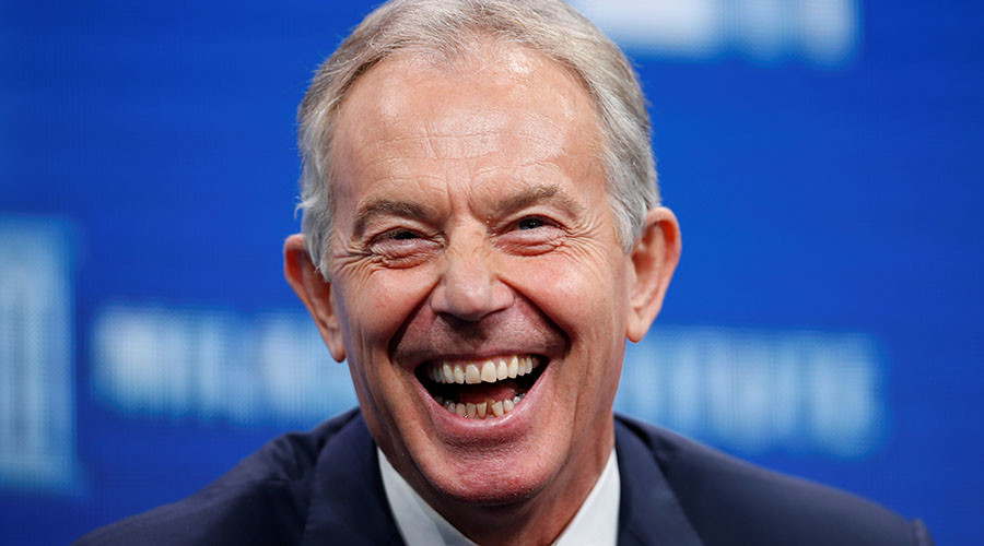 Tony Blair returns as savior of UK liberal elite dripping in hypocrisy
