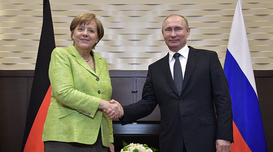 Merkel: EU will lift Russian Federation sanctions when Minsk accords implemented