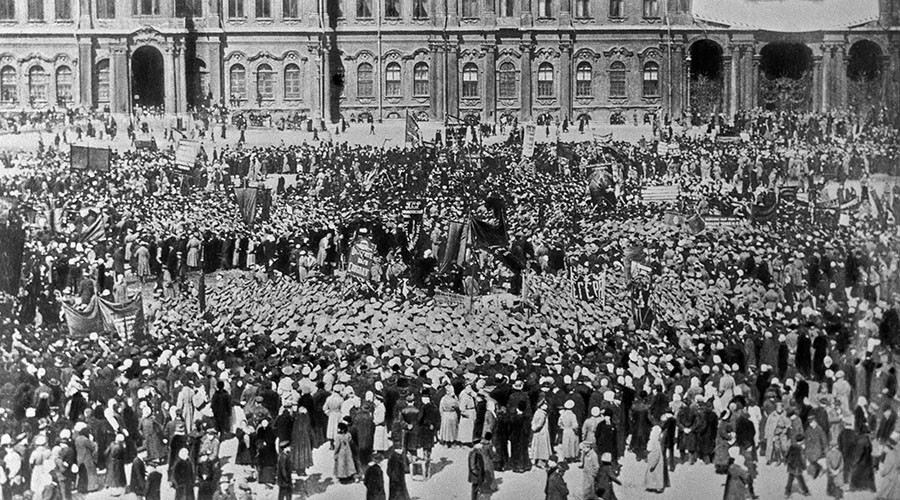#1917LIVE: Russia celebrates May Day freely for 1st time