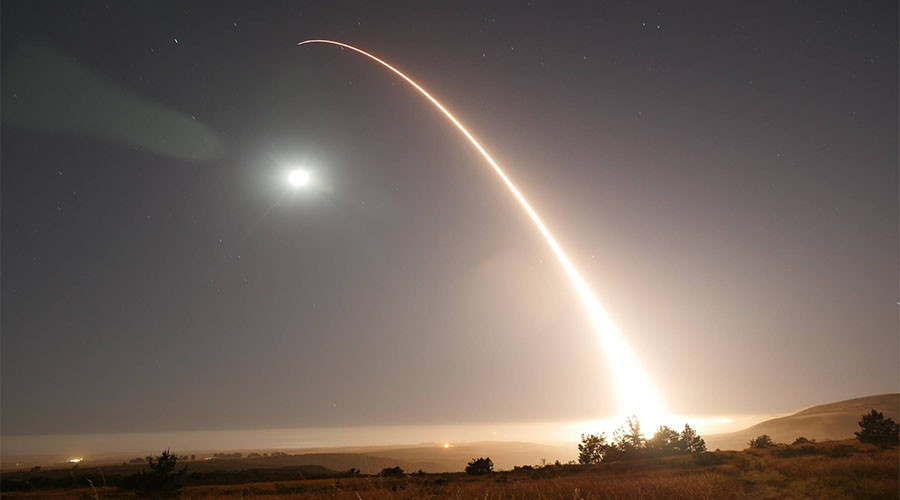 US successfully launches second Minuteman III ballistic missile in 7 days (PHOTOS, VIDEO)