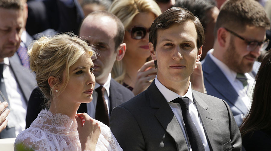Trump son-in-law Kushner has undisclosed ties to Goldman and Soros