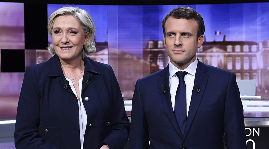 Macron tells Le Pen he 'won't submit to Putin' but admits Russia is needed to solve conflicts