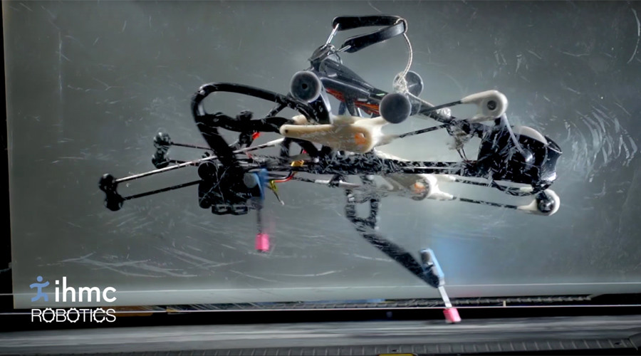 Freaky Ostrich-like running robot built for 'planetary exploration' (VIDEOS)