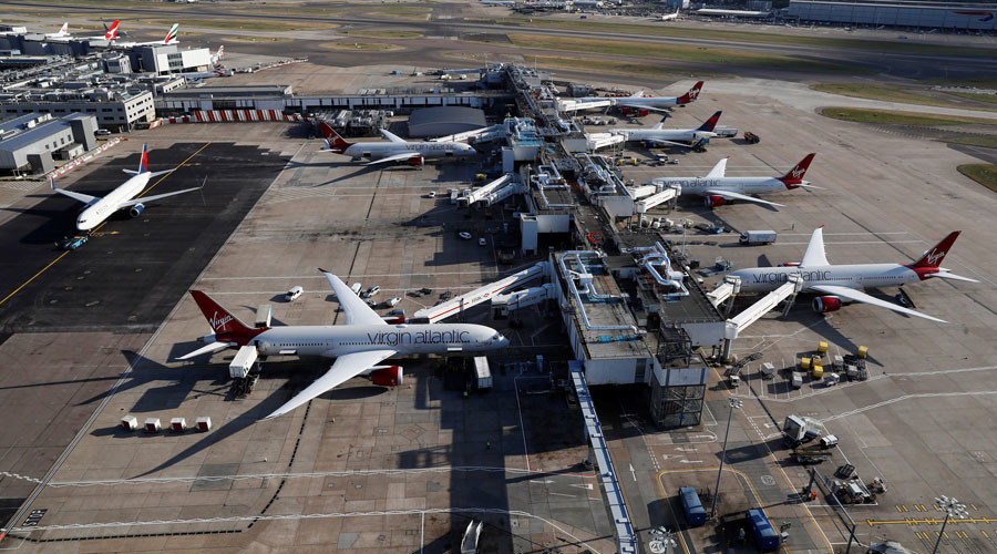 Heathrow flights suspended over 'security issue'