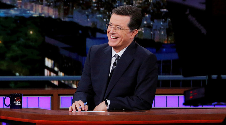Was Colbert's attack on Trump homophobic, hysterical, or both?