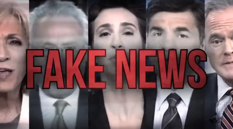 Four major US networks band together to reject Trump ad that brands them 'fake news' media