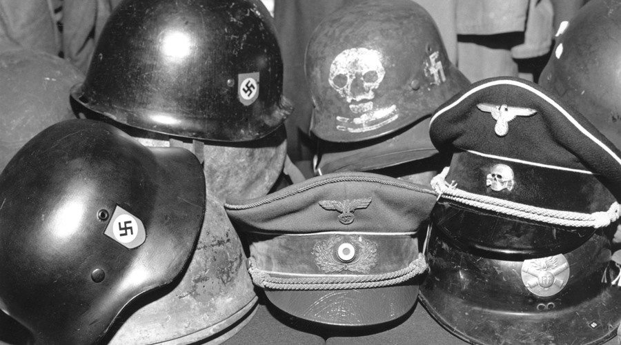 German military orders that all army barracks be searched for Nazi Wehrmacht memorabilia