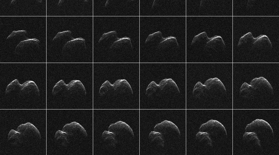 NASA gets close look at 'rubber duck' asteroid as it passes Earth