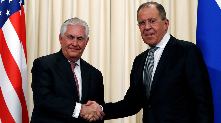 Lavrov will meet Tillerson in Washington DC to talk Syria & Ukraine on May 10